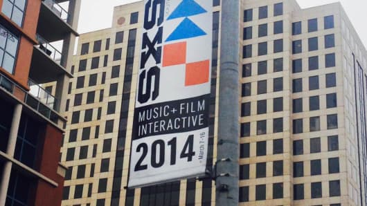 Sign at 2014 South by Southwest, Austin, Texas