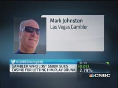 Gambler sues casino after losing $500,000