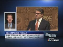 Gov. Perry wows crowd at CPAC