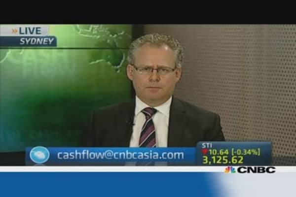 Ukraine, China underlie Monday's Asian stock market fall