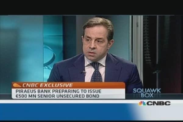 'Non-performing loan saga' coming to end: Piraeus Bank CEO