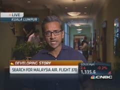 Search continues for Malaysia Air flight 370