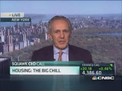 Housing's big chill expecting spring thaw