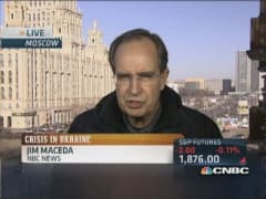 Crimea now Putin's 'red line'
