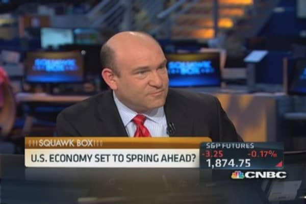 US economy set to spring ahead?