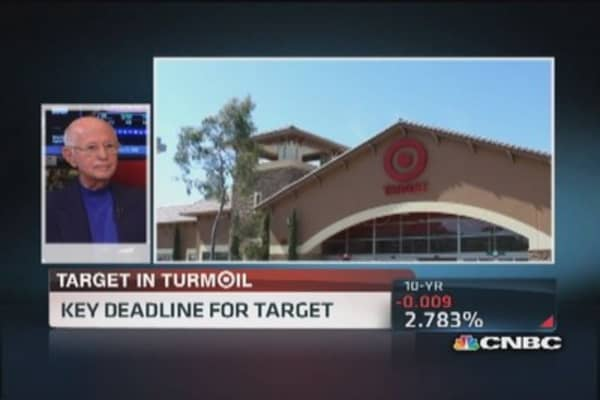Key deadline for Target