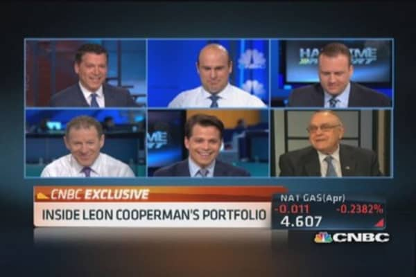 Inside Leon Cooperman's portfolio