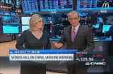 Pisani: Real story is China