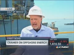 Cramer: Offshore's been consistent, but onshore growing