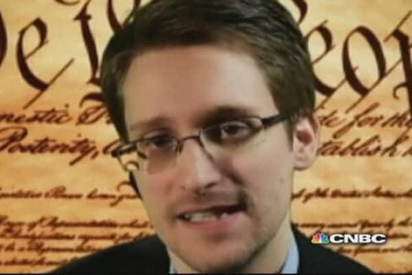 NSA whistleblower Snowden speaks