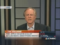 Sculley targeting India's smartphone market