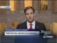 Sen. Rubio: Need higher paying jobs
