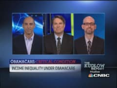 Income inequality under Obamacare