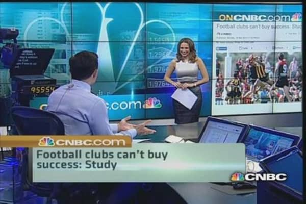 Cash does not propel club success: Study
