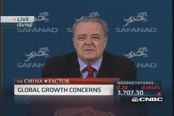 Weak China data raises global concerns