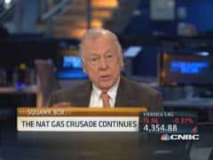 Boone: Strong natural gas prices through the summer