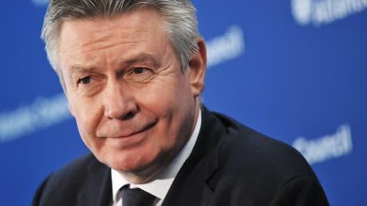 European Commissioner Karel De Gucht