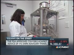 Controversy grows over potent pain drug Zohydro