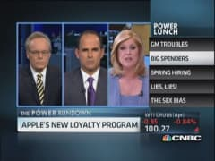 GM recall mess & Apple rewards best customers