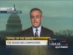 CIA spying on Senate leaders?