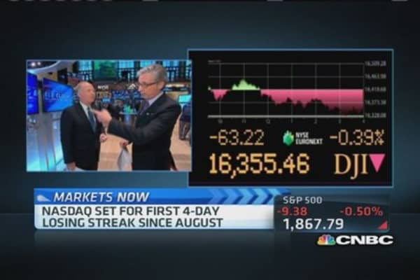 Pisani: All the big names are down