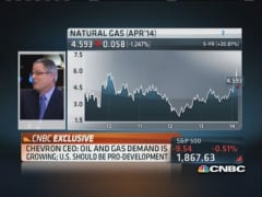 Crude prices will come back to parity: Chevron CEO