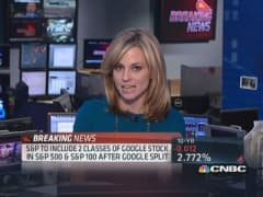 Google's stock split