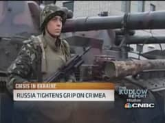 Russia tightens grip on Crimea