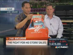 Home Depot's fight for sales
