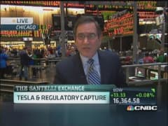 Santelli Exchange: Tesla & regulatory capture