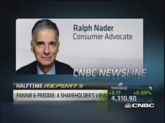 Ralph Nader says Fannie & Freddie proposal won't pass