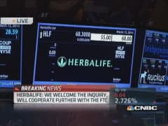 Herbalife reopens for trading