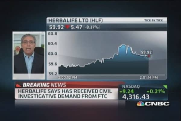 Herbalife investigation 'long overdue': Herb