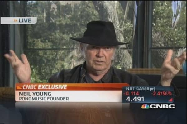 Neil Young's new, high-resolution music player