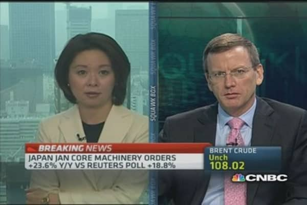 Japan's January machinery data positive: Economist