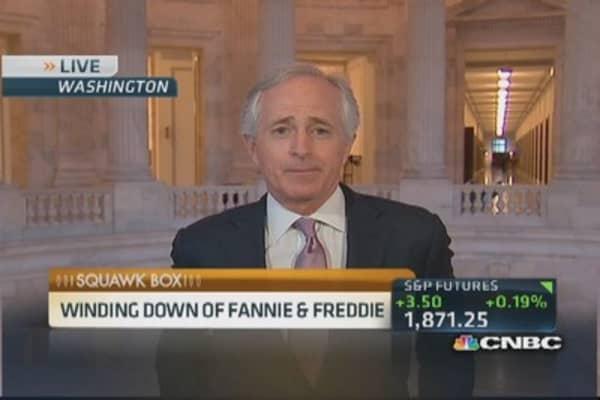 Sen. Corker on reforming Fannie & Freddie