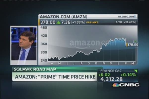 Amazon hikes 'Prime' price