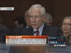 Stanley Fischer's confirmation hearing