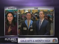 Traders feud on gold