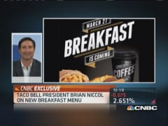 Taco Bell enters breakfast battle