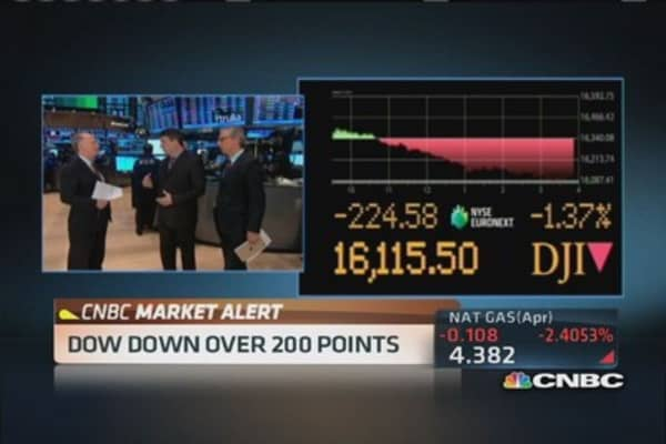 Pisani: No panic in selloff