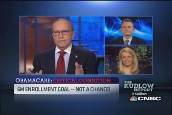 Obamacare 6 million enrollment goal possible?