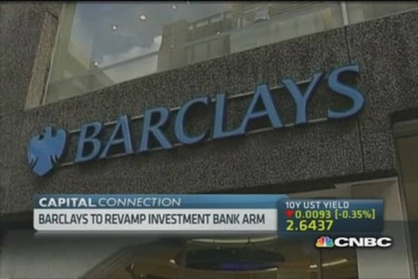 An overhaul in the pipeline for Barclays