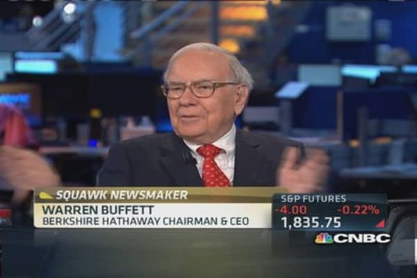 Buffett: Bitcoin is a 'mirage'