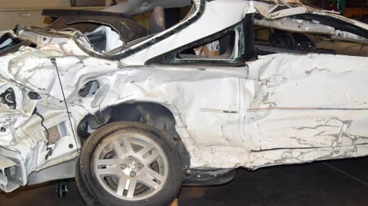 Pediatric nurse Brooke Melton, 29, died in this 2005 Chevy Cobalt on March 10, 2010, when the ignition allegedly shut off as she drove down a highway on a rainy night in Georgia.