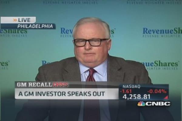 Won't sell GM on recall news: Pro