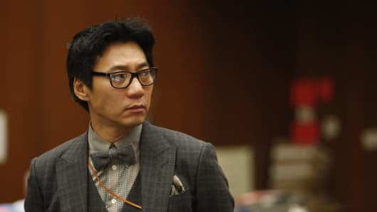 Young Lee, co-founder of the frozen yogurt chain Pinkberry has been sentenced to seven years in prison for beating a homeless man with a tire iron in Los Angeles.