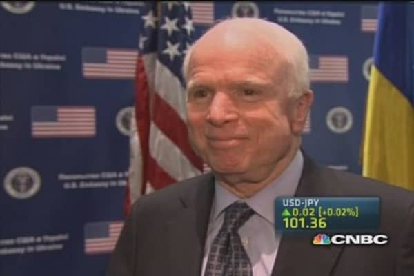 John McCain: Crimea referendum is a facade