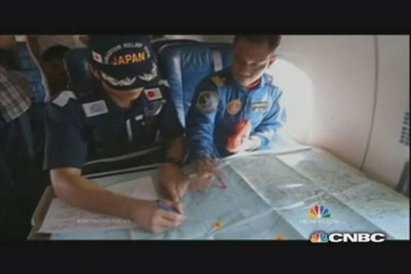 25 nations in joint search for MH370