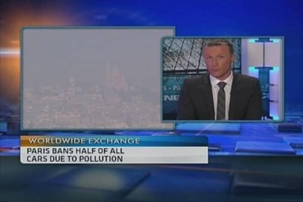 Odd! Paris restricts car usage